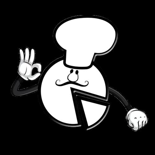 logo gordito pizzero