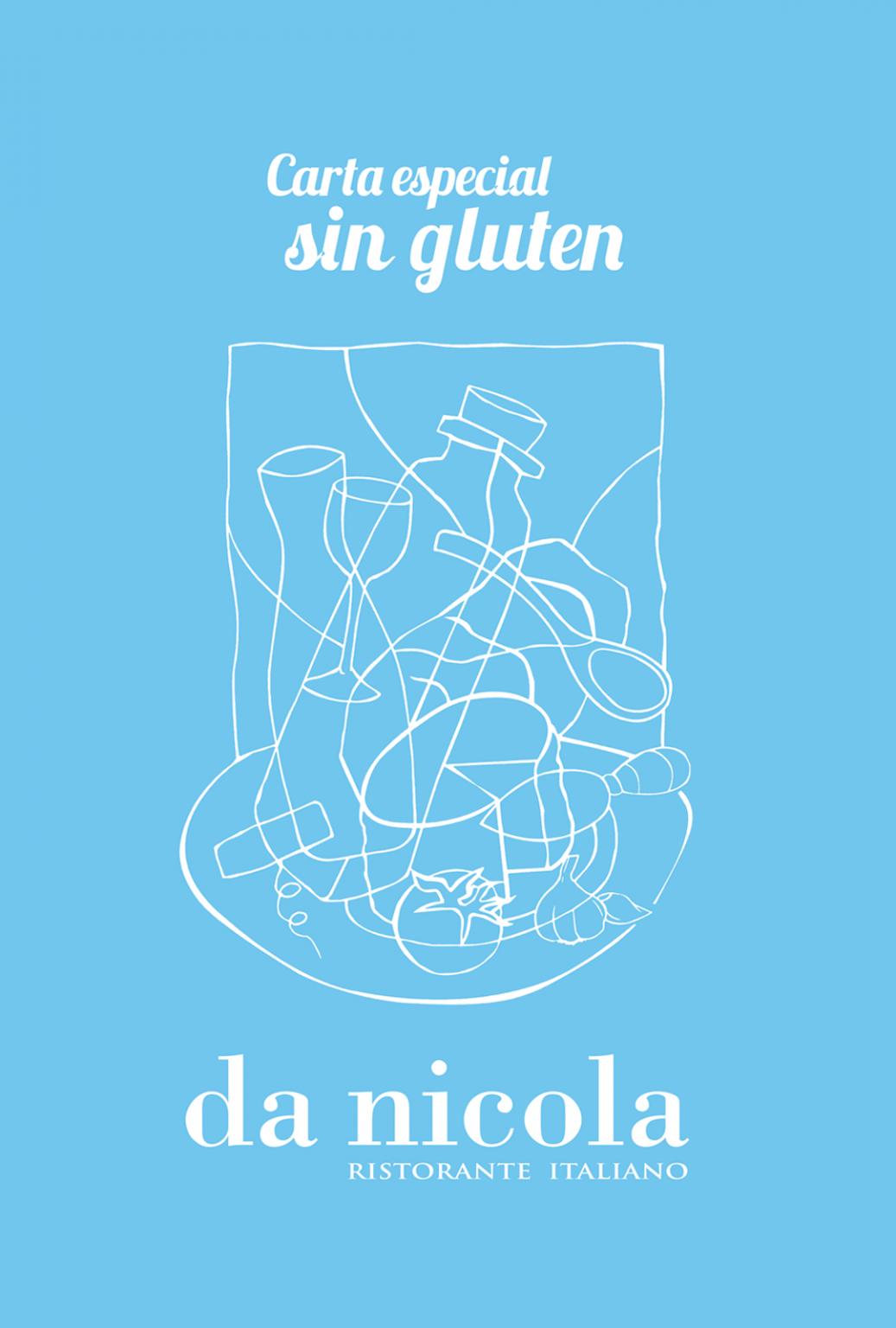 Selector de carta sin gluten